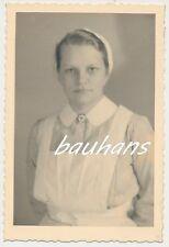 Foto Portrait Wehrmacht  NS-Schwester 2.WK (d620)