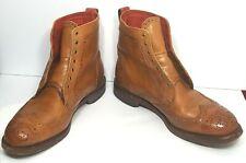 Allen Edmonds Dress Boots Dalton Wingtip Walnut Brown 7.5 EEE