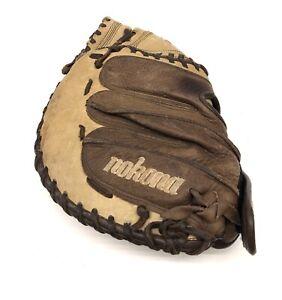 "Nokona Fastpitch CMFPE 33"" Baseball Softball Catchers Mitt Right-Hand Throw"