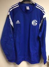 FC Schalke 04 S04 Spielerpullover Trainingspullover ohne Sponsoren NEU XL !