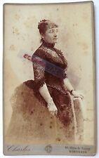 PHOTO CABINET CHARLES CHAMBON à BORDEAUX FEMME ROBE FAUX CUL M432
