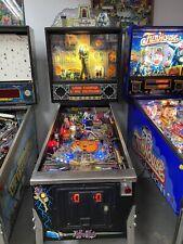 1992 Addams Family Pinball Machine Leds Nice Example Many Mods Extras