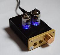 6J9 Vacuum Tube Amplifier Mini Audio HiFi Stereo Headphone AMP DIY