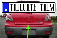 Mitsubishi OUTLANDER 2003 2004 2005 2006-2013 Chrome Tailgate Trunk Trim Molding