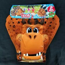 Zing Wave A Bubbles Package of 2 Hours Of Bubble Fun Brown Gorilla Monkey New