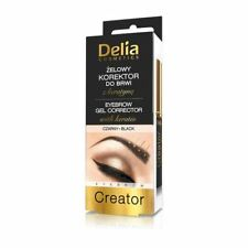 Delia Eyebrow Gel Corrector with Keratin Black 7ml