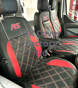 IN STOCK!!   FORD TRANSIT CUSTOM 2014-20  VAN SEAT COVERS TAILORED RS 23RS