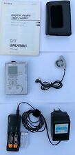 Sony TCD-D100 DAT Walkman with accessories tested and working!