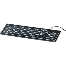 GeneralKeys Beleuchtete USB-Tastatur mit Nummernblock, deutsches Layout (QWERTZ)
