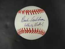 Richie Ashburn (Whiz Kids!) Signed Baseball Autograph Auto PSA/DNA AD50143