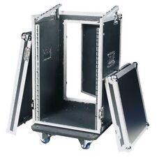 Flightcase L-Rack Mixercase 19 Zoll DJ Case 16/10 HE  Combicase AMP Case