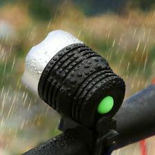 Outdoor Waterproof Plastic Bike LED Front Light Bicycle Head Lamp With Mount