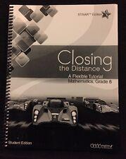 STAAR Edition Closing The Distance Flexible Tutorial Math Workbook 2013 Grade 8