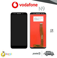 DISPLAY LCD + TOUCH SCREEN VODAFONE SMART N9 VETRO NERO SCHERMO VFD-720 BLACK