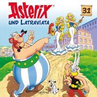ASTERIX - 31: ASTERIX UND LATRAVIATA   CD NEW