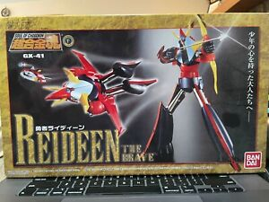 Soul of Chogokin GX-41 Reideen the Brave Figure Used Missing One Small Accessory