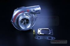 TURBONETICS T3/T4 TURBO CHARGER .48AR JOURNAL T3 4 BOLT DOWNPIPE 400HP F1-57