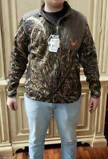 d9564840406 2XL Mens Realtree Max-5 Camo Full Zip Fleece Waterfowl Jacket By Walls