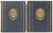 LE VISAGE DE L'ENFANCE 1937 HORIZONS DE FRANCE ÉDITION ORIGINALE 2 TOMES