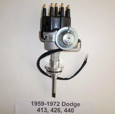DODGE 413-426-440 BLACK Ready-To-Run Small Cap HEI Distributor 1959 & UP