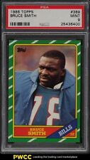 1986 Topps Football Bruce Smith ROOKIE RC #389 PSA 9 MINT