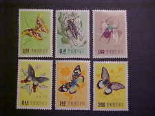 China Sct # 1183-8 Butterflies Mnh