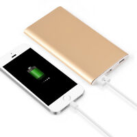 QC3.0 Aluminum Quick Charge Power Bank USB+ Type-C+Micro-USB Battery Charger Kit