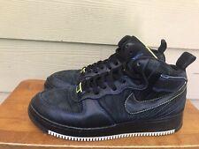 Nike Air Jordan Fusion AJF 12 CYBER Black Blue Sneakers Shoes Men's Size 9