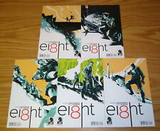 EI8HT #1-5 VF/NM complete series - eight - rafael albuquerque - science fiction