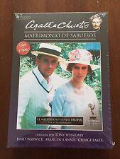 MATRIMONIO DE SABUESOS EL MISTERIOSO SEÑOR BROWN - DVD + LIBRO SPECIAL ED - NEW