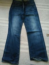 2 Pairs Mens River Island Ripped Bottom Jeans