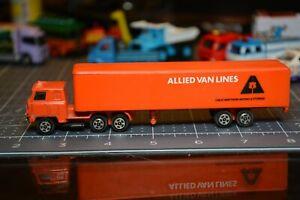 Vintage Die cast Allied Van Lines Moving Truck Made in Hong Kong