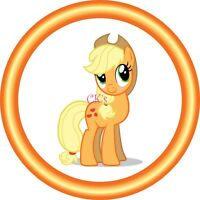 My Little Pony Applejack 7 Inch Edible Image Cake & Cupcake Toppers/Birthday
