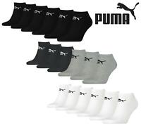 PUMA Trainer Socks Mens Womens Unisex Cotton Rich Sneaker Sports Sock 6 Pairs