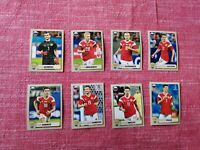 Panini World Cup 2018 McDonald SET RUSSIA 8 figurine stickers vignette
