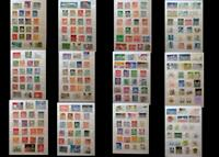 Stamp Collection From Sweden Norway Iceland Denmark Finland & United States