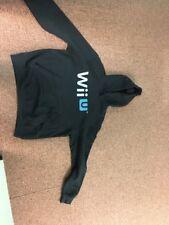 Wii U Black Hoodie Top Large