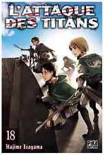 manga L'Attaque des Titans Tome 18 Seinen Hajime Isayama Pika Shingeki no Kyojin