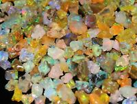 AAA Quality Natural Ethiopian Opal Rough Loose Gemstone Lot 15 CT