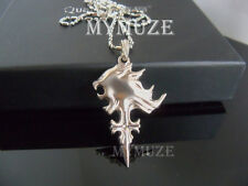 Final Fantasy VIII 8 Griever Squall Necklace Leonhart Lion Head Cosplay Pendant