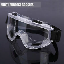 Clear Lens Eye Protection Flexible Lab Safety Glasses Goggles UK