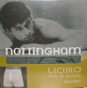 3 Boxer uomo Nottingham Filo di Scozia.