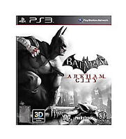 Batman Arkham City PS3 Playstation 3 (FAST FREE POSTAGE) Manual