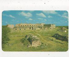Quadrangle & House Of Nuns Uxmal Yucatan Mexico Postcard 033b