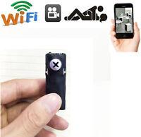 wireless WIFI Network spy hidden pinhole DIY cam mini nanny micro camera dvr