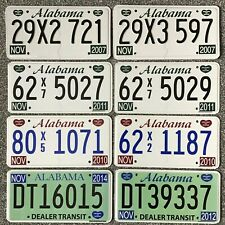 Alabama USA £4.99 Genuine License/Licence Plates - Take Your Pick