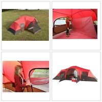 Large Outdoor Waterproof Ozark Trail 3 Room 10-Person Family Camping Tent New