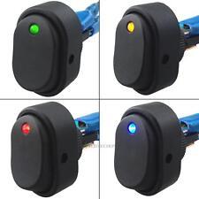 4PCS LED Dot Light 12V DC 30A Car Auto Boat Rocker ON/OFF Switch Indicator Lamp