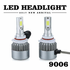 9006 HB4 LED Car Headlight Kit COB 36W 3800LM White 6000K Xenon Beam Bulbs Lamp