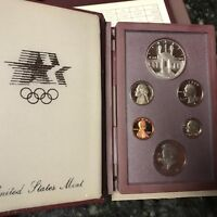 1984 UNITED STATES SILVER PRESTIGE PROOF SET WITH BOX AND COA